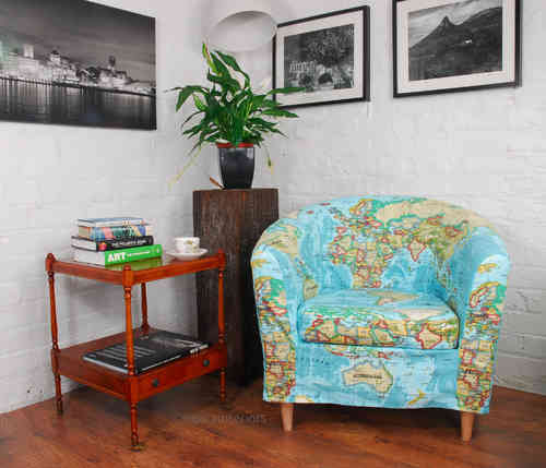 Atlas Cotton Print cover for Ikea Sofas and Chairs