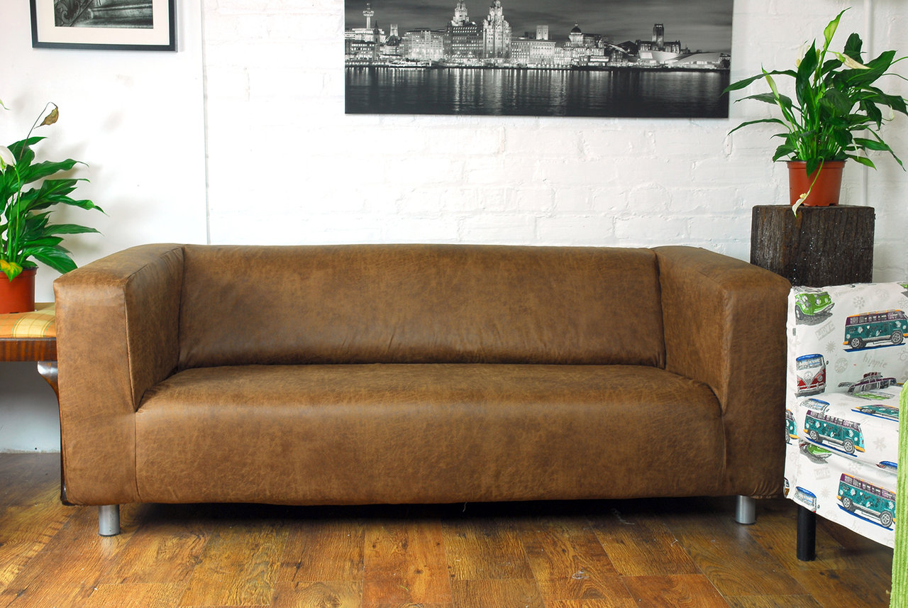 Faux Leather Sofa Covers Faux Leather Sofa Covers Radiovannes Com Thesofa