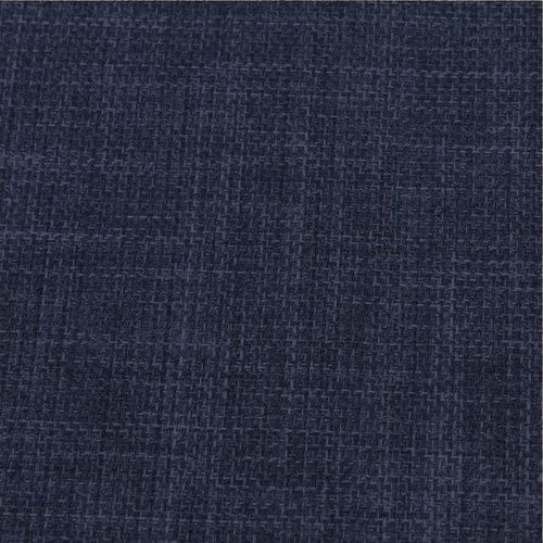 Ikea Lycksele chiar/bed slip cover Linen look fabric Midnight Blue